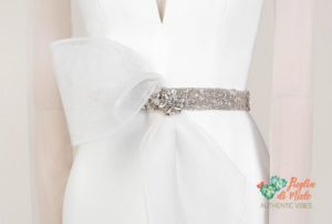 winter wedding dress - accessory
